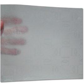 papier bibuła z nadrukiem